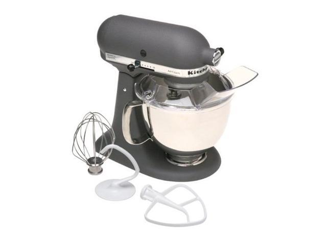 KitchenAid KSM150PSGR Artisan Series 5-Quart Tilt-Head Stand Mixer Grey