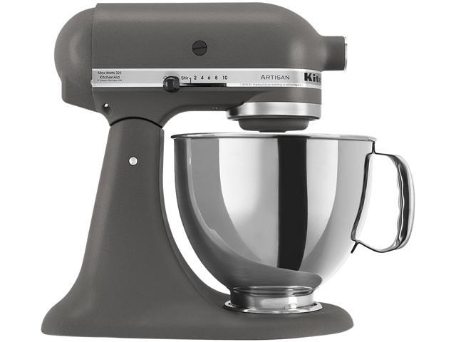 KitchenAid KSM150PSGR  Artisan Stand Mixer with Pouring Shield, 5 Quarts,Imperial  Grey