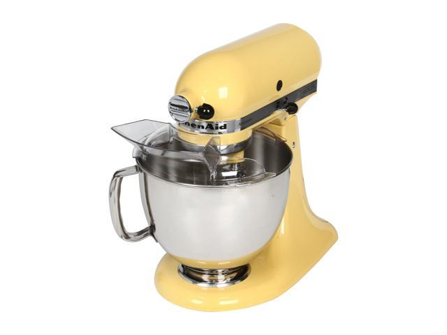 KitchenAid KSM150PSMY Artisan Tilt-Head 5-Quart Stand Mixer Yellow