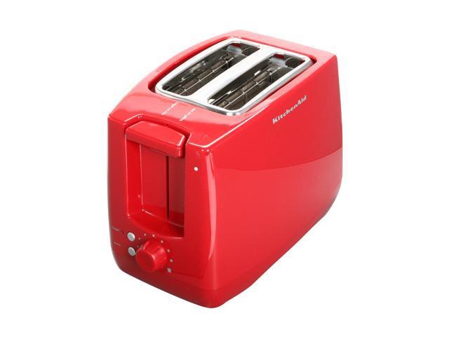KitchenAid KTT340ER Red 2-Slice Polycarbonate Toaster
