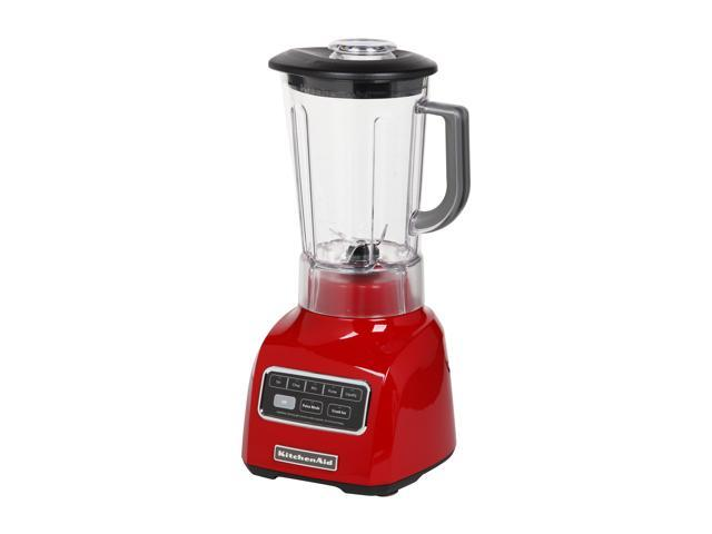 KitchenAid KSB650ER Empire Red 56 oz. Jar Size Platinum Collection Blender with BPA-Free Pitcher 5 speeds