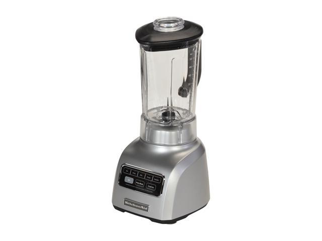 KitchenAid KSB650SM Silver Metallic Platinum Collection Blender with BPA-Free Pitcher