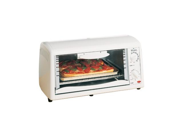 Rival To450 White 4 Slice Toaster Ovens