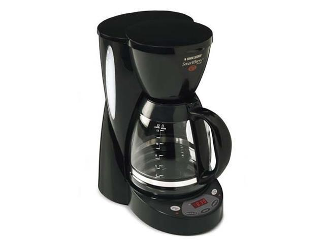 Black & Decker DCM2500B Black SmartBrew Plus 12-Cup Programmable Coffeemaker