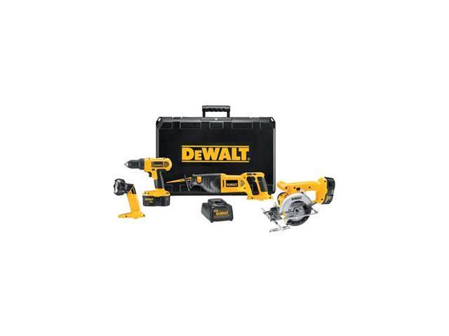 DEWALT DC4CPKA 18V 4 Tool Combo Kit