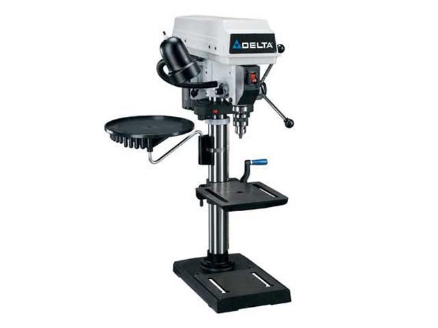 """DELTA DP300L 12"""" Drill Press w/ Twin Laser"""