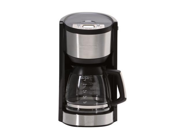 Black And Decker Coffee Maker Temperature : Black & Decker CMD3400MB Black with stainless accents Programmable Coffeemaker - Newegg.com
