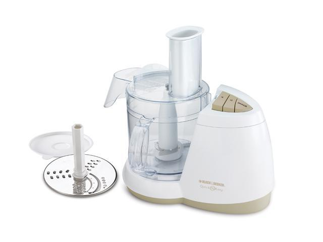 Black And Decker White Food Processor