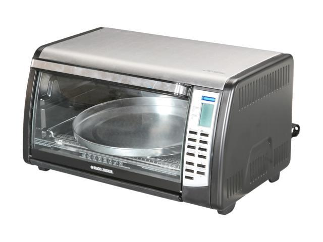 Black & Decker CTO6305 Black Digital Convection Toaster Oven