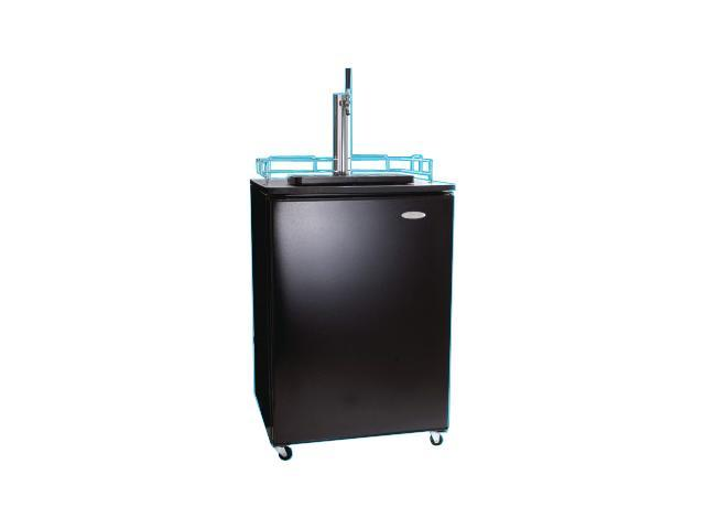 Haier HBF05EABB Stainless Steel BrewMaster:Holds 0.5, 0.25 & Mini Barrel Kegs Black