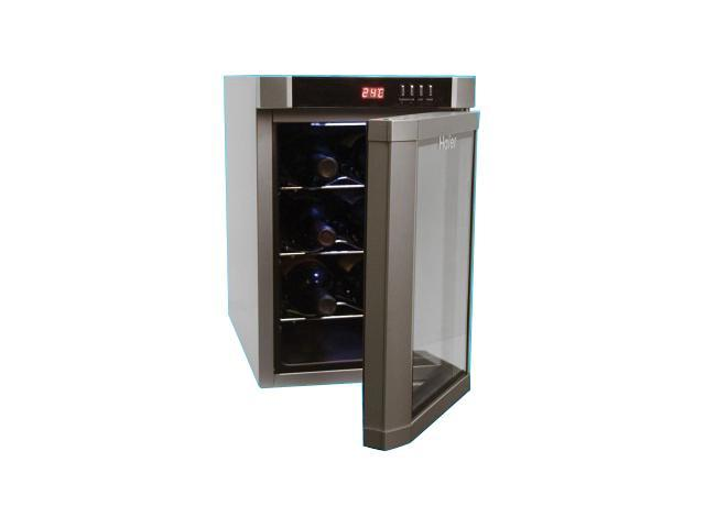 Electric Wine Cellar : Haier hvue bss silver wine cooler accessories