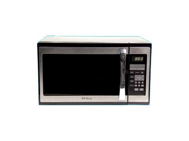 Haier 1100 Watts 1.3 Cu. Ft. Microwave MWM13110GSS Stainless Steel