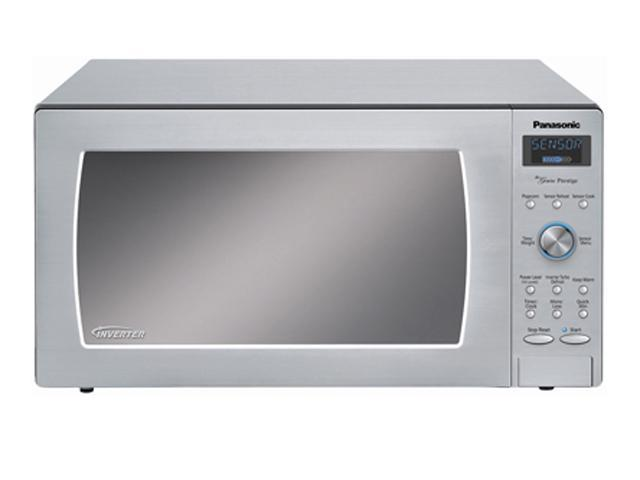 Panasonic 1250 Watts Genius Prestige Inverter Microwave Oven NNSD997S Sensor Cook Stainless Steel