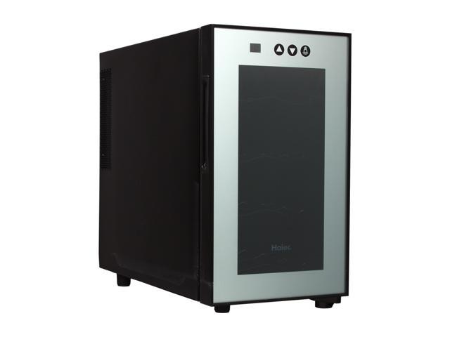 Haier HVTM08ABS 8-Bottle Wine Cellar with Electronic Controls Black