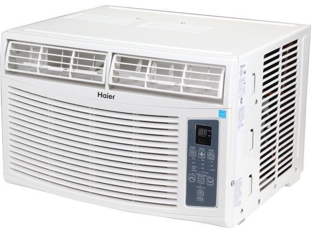 haier window air conditioner. haier esa406m 6,000 cooling capacity (btu) window air conditioner