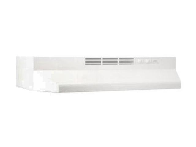 "BROAN 30"" White Non-Ducted Range Hood 413001 White"