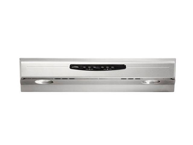 "BROAN 30"" Under Cabinet Hoods QS2 Series (Allure II) Range Hood QS230SS Stainless Steel"