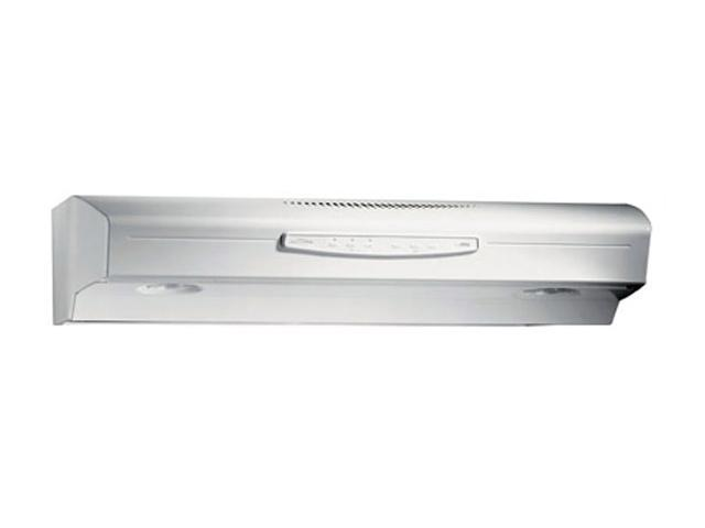 "BROAN 30"" Under Cabinet Hoods QS2 Series (Allure II) Range Hood QS230WW White On White"