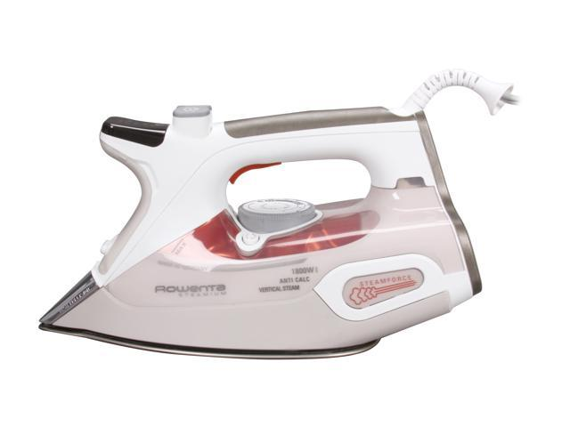 Rowenta DW9080 Steamium 1800-Watt Steam Iron with 400-Hole Platinum Soleplate