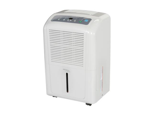Soleus Air DP1-70-03 Humidistat 70-pint Portable Dehumidifier White
