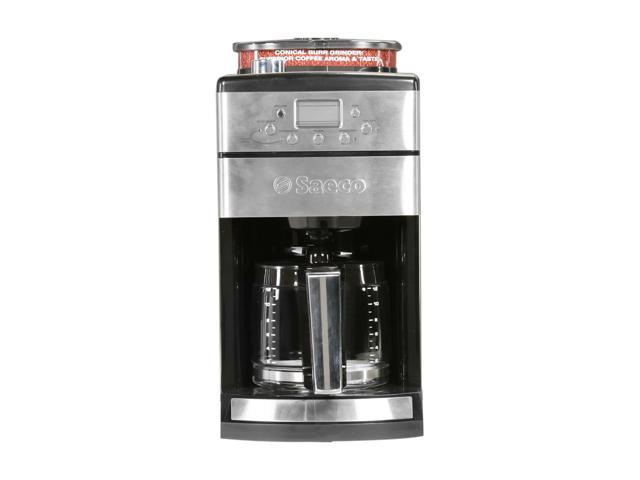 Saeco 104373 Stainless steel Coffee Grinder & Brewer