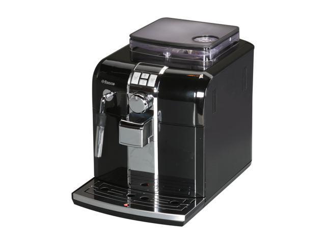 saeco focus espresso machine review