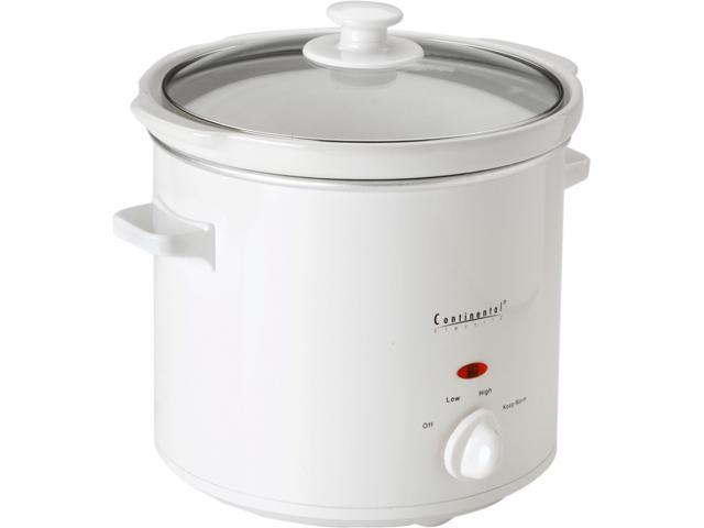 Continental CE33241 4 Qt. Round Slow Cooker