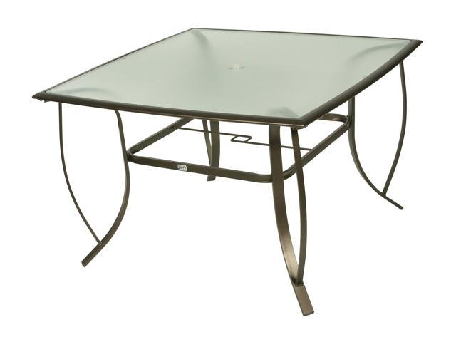 Rosewill Home HC-12-487-4444 Savannah Glass Top Dining Table