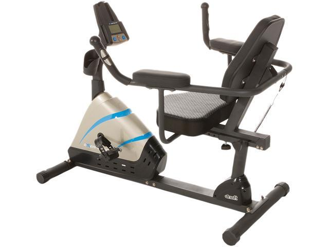 Exerpeutic 2000 HIGH CAPACITY PROGRAMMABLE MAGNETIC RECUMBENT BIKE WITH