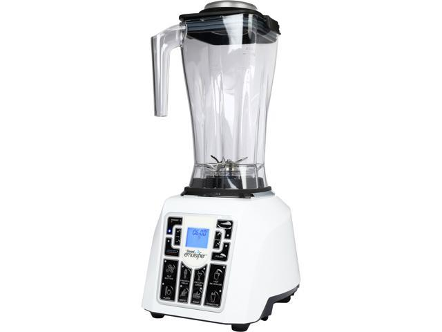 Shred Emulsifier Multi-Functional the Ultimate 1500W, 5-in-1 Blender and Emulsifier for Hot or Cold Drinks, Soups and Dips, White, SE01WH