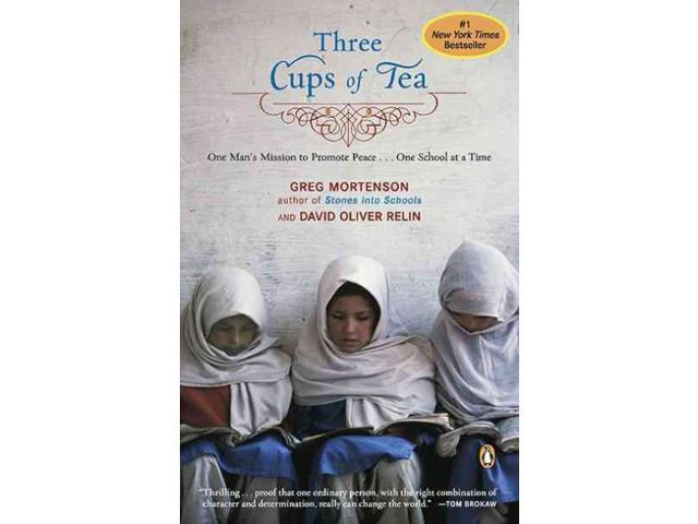 Three Cups of Tea Reprint Mortenson, Greg/ Relin, David Oliver