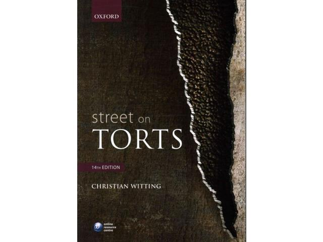 Street Torts Christian Witting dp