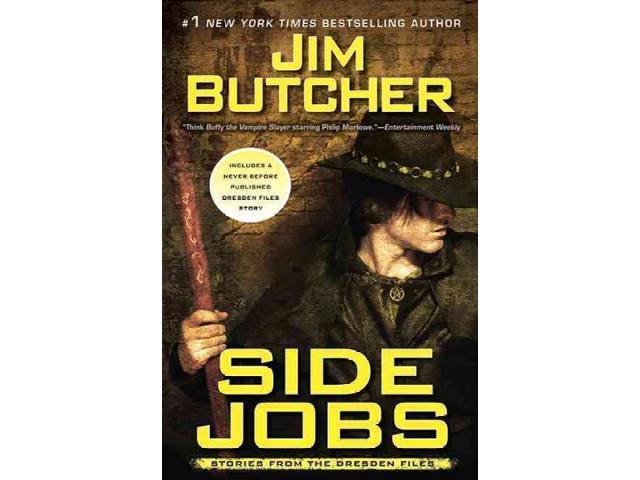 Side Jobs Dresden Files Butcher, Jim