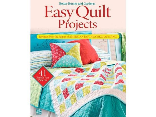 Better Homes And Gardens Craft Ideas Part - 44: Better Home And Garden Craft Ideas : Easy Quilt Projects Better Homes  Gardens Crafts Newegg