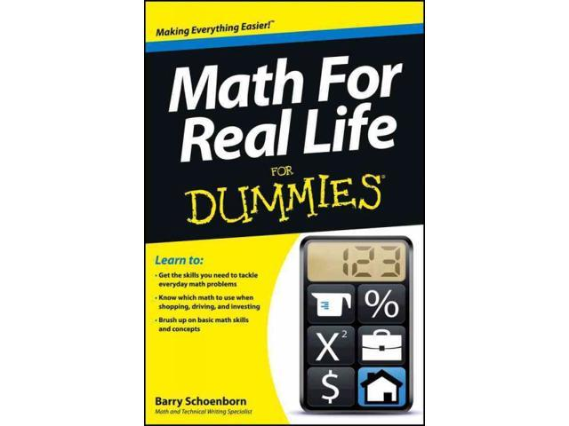math in real life pdf for dummies
