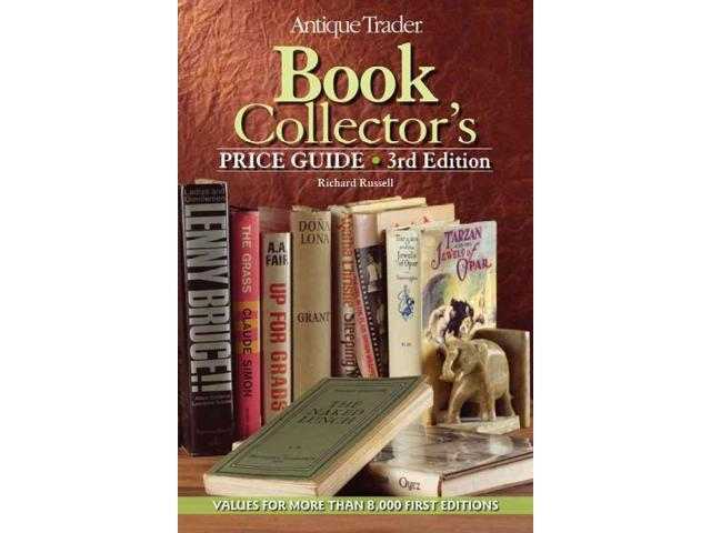 Antique Trader Book Collector's Price Guide Antique Trader Book Collectors Price Guide 3 Original Russell, Richard