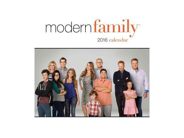 modern family 2016 calendar wal newegg
