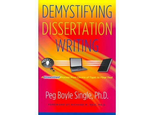 demystifying the dissertation writing