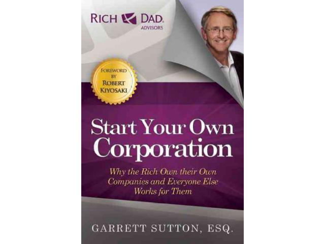 How to start a corporation rich dad jobs