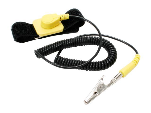 CABLES UNLIMITED ACC-1400 Anti Static Wrist Strap With Grounding Wire