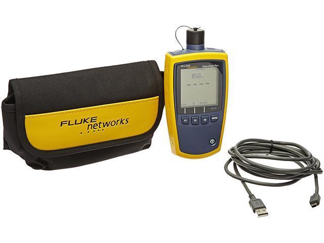 Meter Fluke Networks : Fluke networks simplifiber sfpowermeter pro optical power