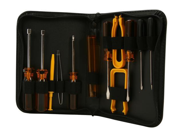 Nippon Labs STK-13YL PC Service Toolkit with 12 Tools in Yellow