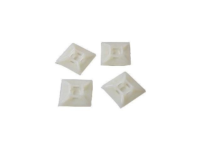 StarTech HC102 Self-adhesive Nylon Cable Tie Mounts - Pkg of 100