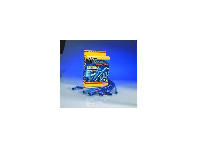 ACCEL Universal Fit Super Stock 8mm Spiral Spark Plug Wire Set