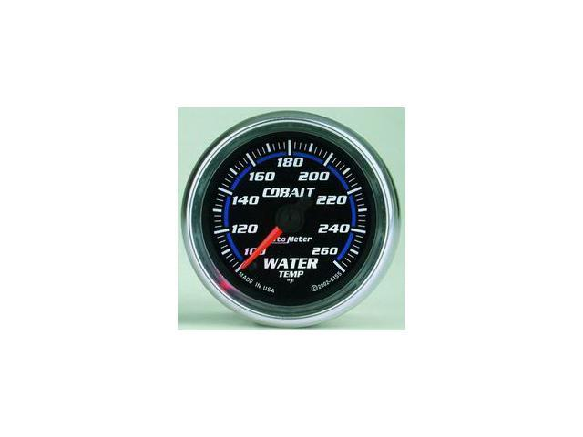 Auto Meter Cobalt Electric Water Temperature Gauge
