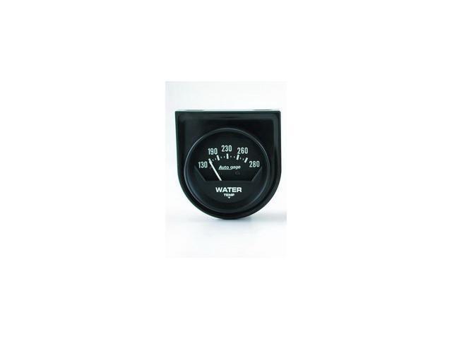 Auto Meter Autogage Mechanical Water Temperature Gauge
