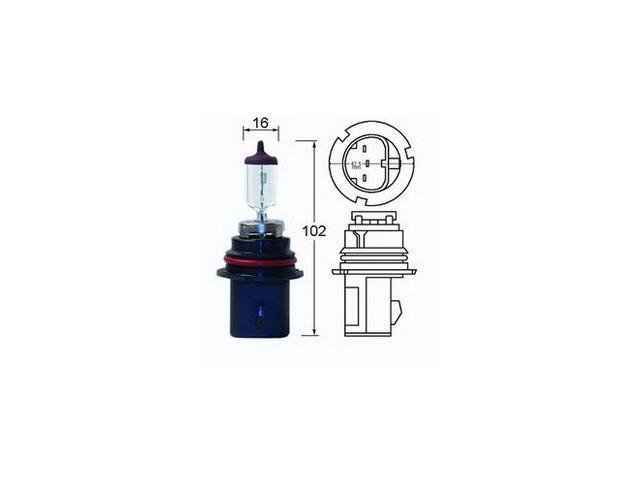 Hella HB5/9007 Hella High Performance Xenon Blue Halogen Bulb
