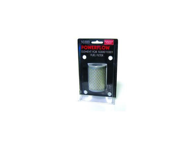 Professional Products Fuel Filter Element