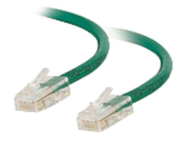 C2G 04129 3 ft. Cat 6 Green Non-Booted Patch Cable