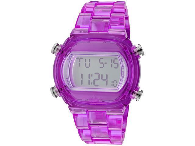 Adidas Nylon Candy Digital Grey Dial Unisex watch #ADH6506